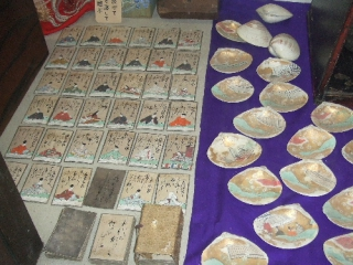 Ракушки для ута-авасе и ута-карута